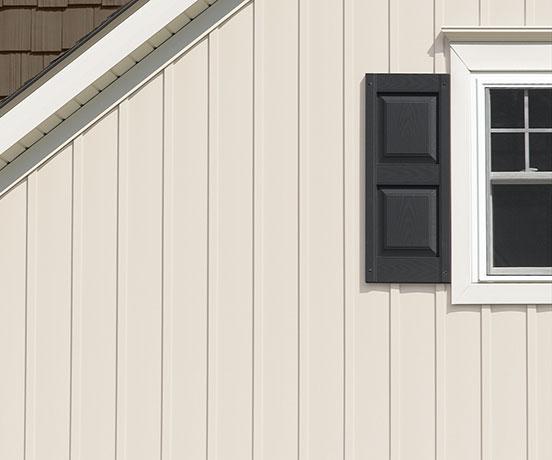 Board & Batten – single 7″ & 8″ vertical siding by